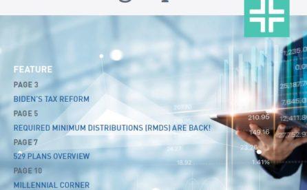 2021 Financial Planning Update
